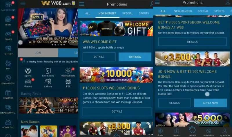 Remarkable W88 Promos Deals Offers for Indian Online Casino Players