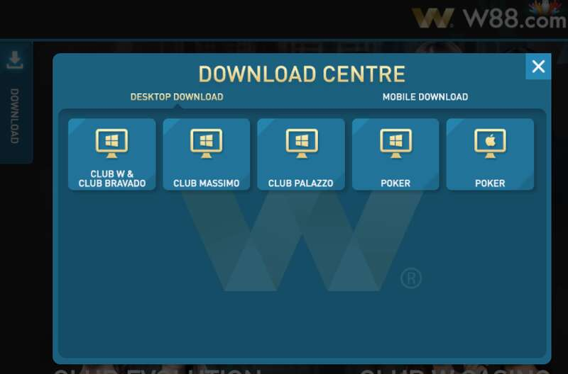 Access W88 Club PC for Superb Online Gambling
