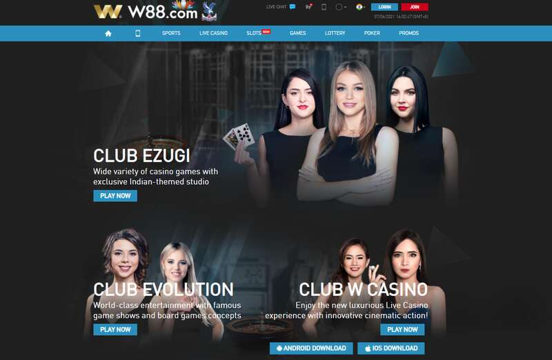 Club W88 Apps - Your Gateway to Online Good Times and Profit