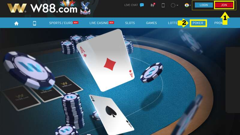 How to Play Poker W88