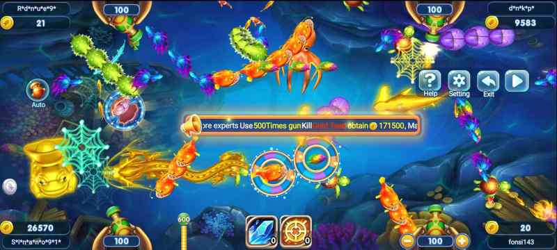 Earn Real Money by Playing Online - Shoot Fish for Reward